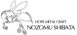 柴田望 HOPE METAL CRAFT logo